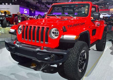 Jeep Credit All New 2018 Jeep Wrangler Specs Released At La Auto Show