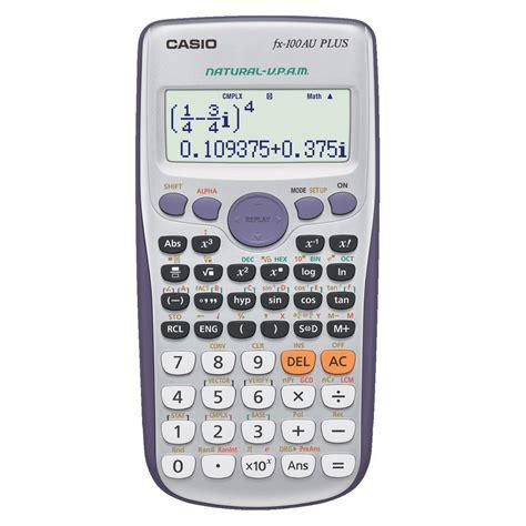 Calculator Fx 3650 Casio Scientific casio fx100au plus scientific calculator casio calculators the co op