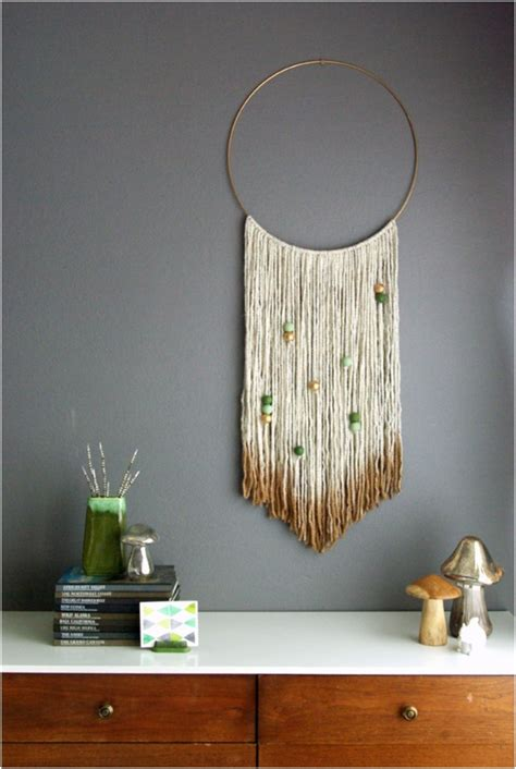 home interior wall hangings top 18 creative diy woven wall hangings for a cozier home