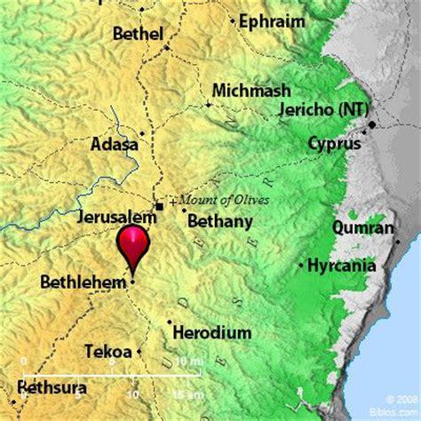bethlehem jerusalem map bible map bethlehem bible maps maps and