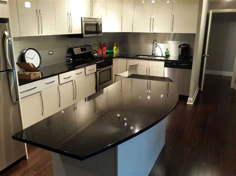 Kitchen Countertops Chicago Archives Ldk Countertops Black Kitchen Countertops