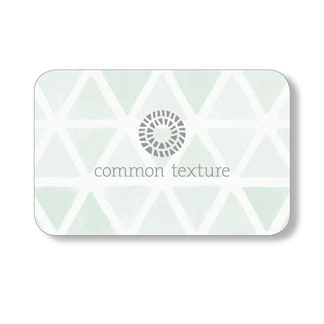 Common Gift Cards - all common texture