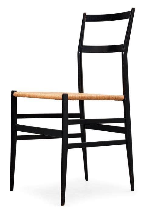 Gio Ponti Chair by A Gio Ponti Superleggera Chair Cassina Italy Black
