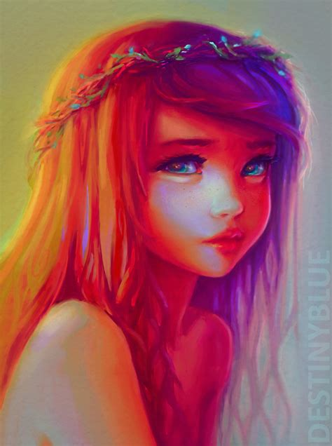 little girl art destinyblue destinyblue deviantart