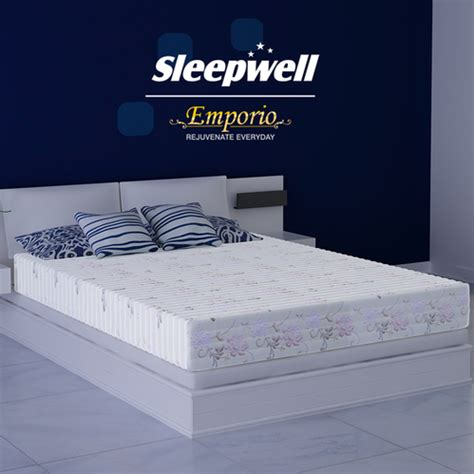 sleepwell mattress size chart kurlon vs sleepwell