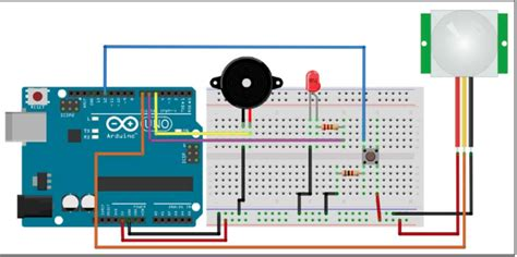 buzzer alarm system with help of arduino hackster io