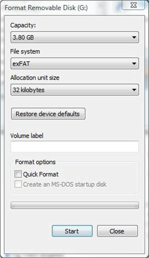 format exfat on windows format disk windows 7 exfat