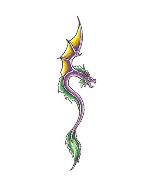 tattoo dragon simple simple purple dragon tattoo free design ideas
