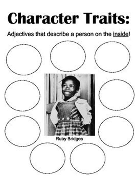 black history month biography graphic organizer this is a character traits graphic organizer for my lesson