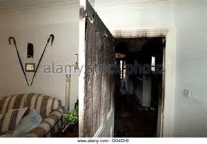fireplace doors open or closed smoke door stock photos smoke door stock images alamy