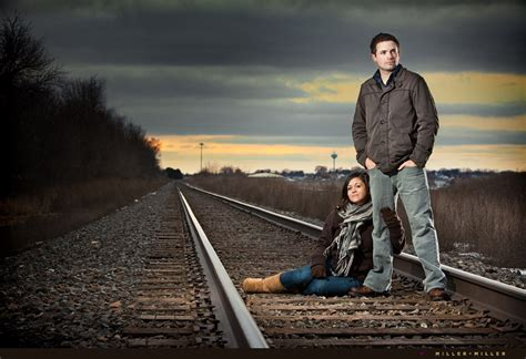 Sean   Stephanie?s Illinois Winter Engagement Photography