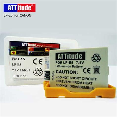 Batere Kamera harga baterai lp e5 untuk kamera canon eos 450d 500d 1000d