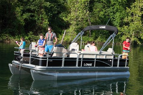 pontoon boats designed for fishing 2016 new lowe sf214 sport fish pontoon boat for sale