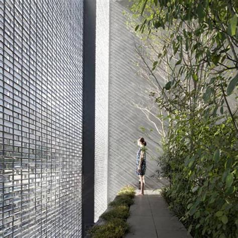glass wall house glass optical house an oasis japanese architecture