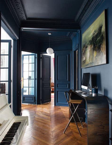 appartement in english les 25 meilleures id 233 es concernant murs bleu marine sur