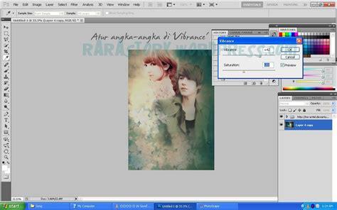 membuat poster fanfic tutorial photoshop cara membuat cover poster