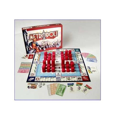 metropoli gioco da tavolo gioco metropoli massa giocattoli
