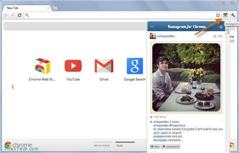 chrome instagram how to access and use instagram in chrome browser
