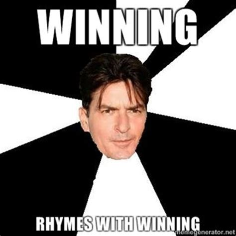 pics for gt charlie sheen winning meme