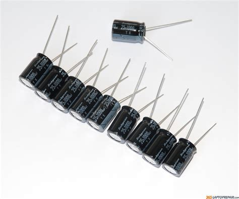 rubycon capacitor quality new rubycon electrolytic capacitor 1000uf 25v yk 10mm 10 pc