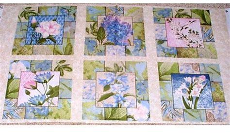 1panel quilt fabric hydrangea radiance pillow quilt panel