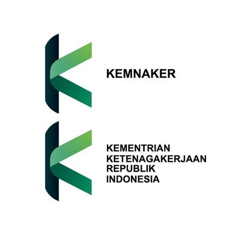 desain huruf nama logo kemnaker k green hellomotion com
