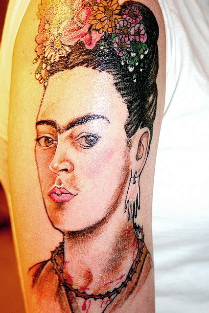 art inspired tattoos 20 amazing artist inspired tattoos flavorwire