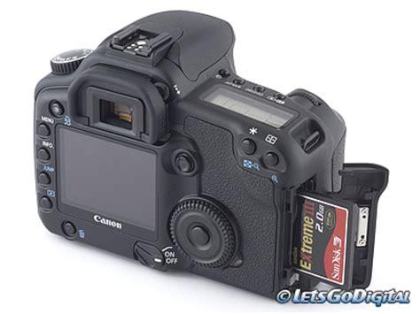 Kamera Digital Canon Eos 30d canon eos 30d digitalkamera test speicher und akkus
