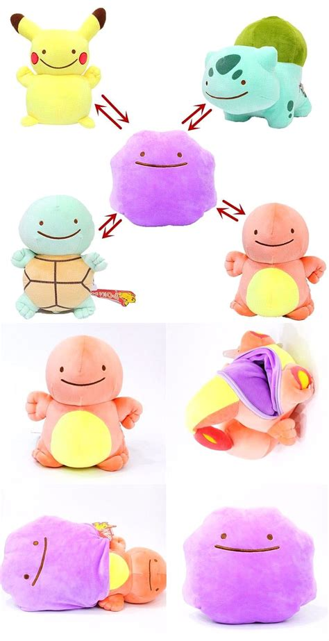Charmander Bolster ditto reversible plushies pok 233 mon fotos de