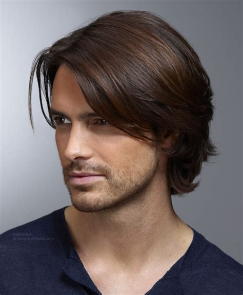 hair longer on top and ears men s hairstyle with ear long top hair and curls that curl
