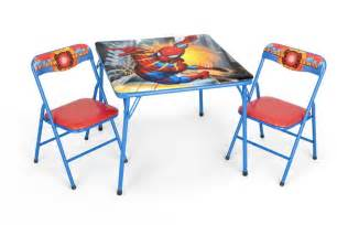 Folding Childrens Table And Chairs Folding Table And Chair Set Home Furniture Design