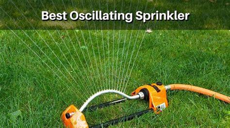 best lawn sprinklers best oscillating sprinkler recommendations top reviews