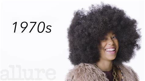 100 years hairstyle images 100 years of black hair allure youtube