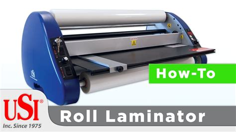 how to thread a roll laminator from usi laminate