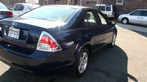 car manuals free online 2006 ford fusion security system 2006 ford fusion se v6 youtube