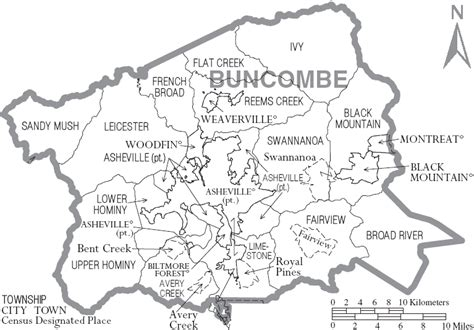 map of carolina townships buncombe county listing report optima properties