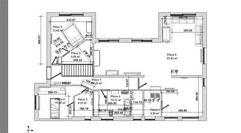 plan architecte de l 233 tage superbe villa au rove 13740