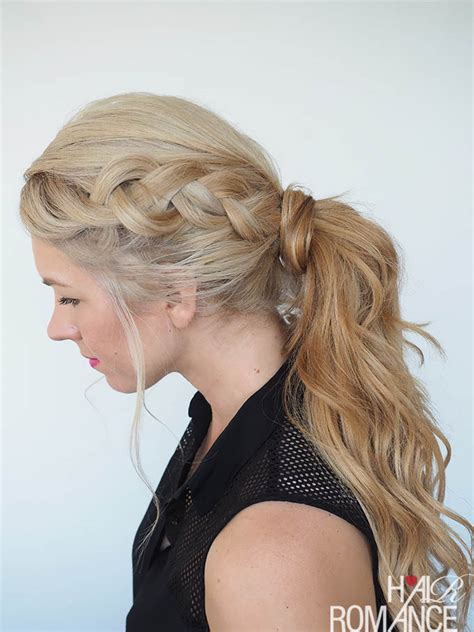 Braid And Ponytail Hairstyles by Get Out Of A Hair Rut Braided Ponytail Hairstyle