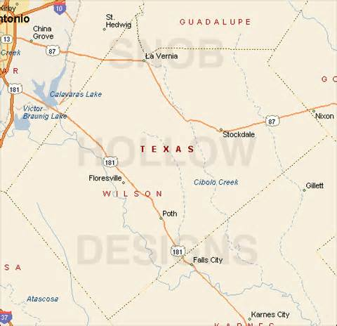 wilson county map wilson county color map