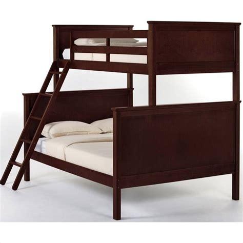 Ne Kids School House Twin Over Full Bunk Bed In Cherry 4040n Cherry Bunk Beds