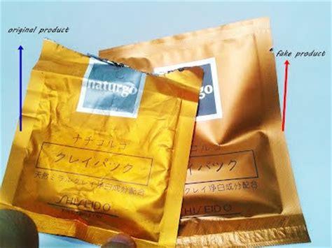 Naturgo Shiseido Asli cara membedakan shiseido naturgo asli original dan