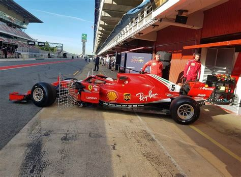 Ferrari Qualifying by 2018 Bahrain Gp Scuderia Ferrari Qualifying Session Photo