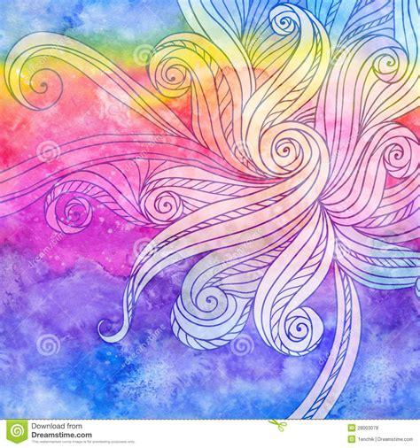 watercolor drawn pattern abstract watercolor seamless hand drawn pattern royalty