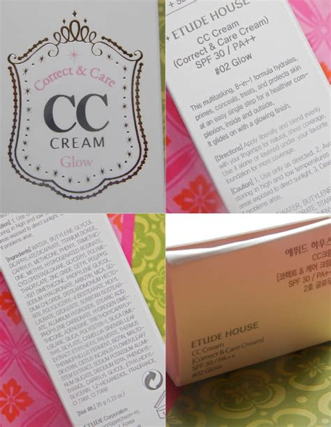 etude house where to buy review etude house correct care cc cream glow the touch of yellow writings of