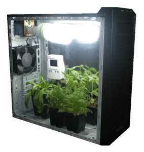 build your own stealth grow cabinet pc grow box