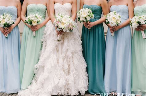 different color bridesmaid dresses the secrets of successful mismatched bridesmaids 3 0