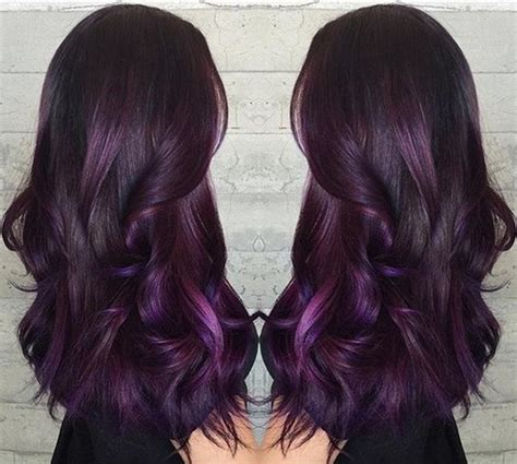 purple hair color thebestfashionblog com 5 hair color trends you should not miss for this autumn