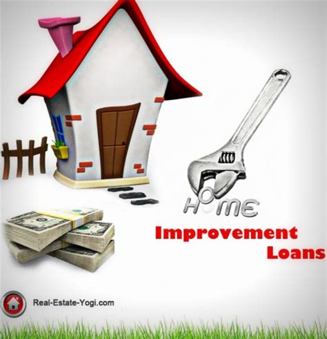 home improvement loans and home improvement loan