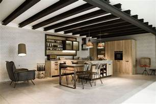 Concrete Cabinets Kitchen Design For Lofts 3 Urban Ideas From Snaidero