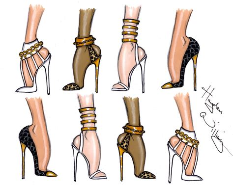 fashion illustration shoes hayden williams fashion illustrations shoe sketches